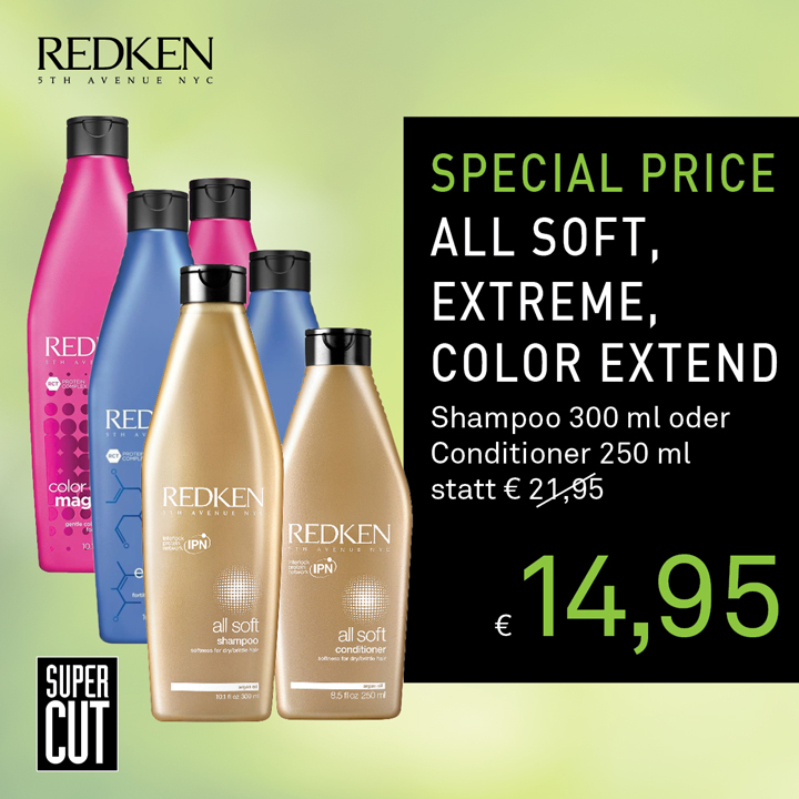 SuperCut RedkenShampoo und Conditioner